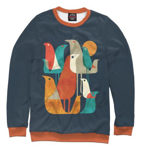 Свитшот Print Bar Осенние птицы свитшот print bar треш полька