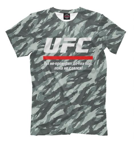 Футболка Print Bar UFC комуфляж