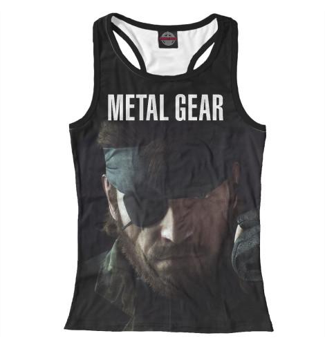 Майка борцовка Print Bar Metal Gear майка борцовка print bar our last night