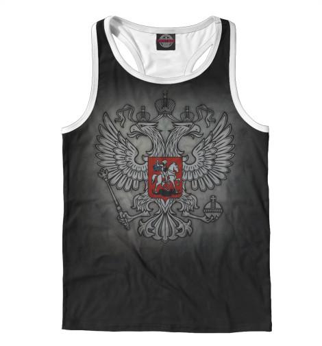 Майка борцовка Print Bar Герб России купить герб россии от пограничного столба интернет магазин