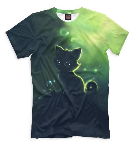 Купить Мужская футболка Коты CAT-985456-fut-2