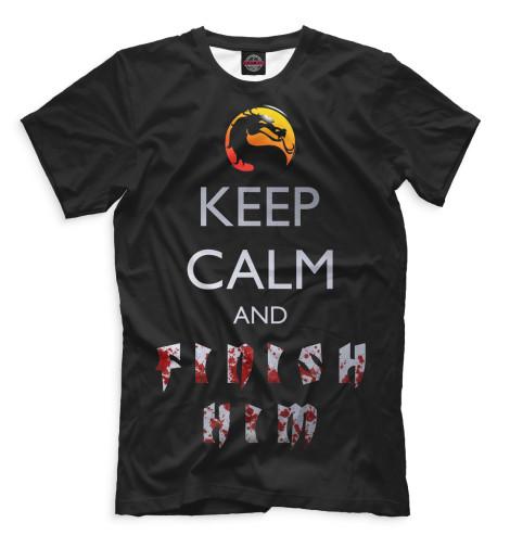 Мужская футболка Finish Him