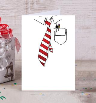 Рубашка и галстук