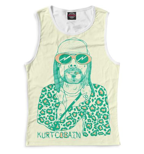 Женская майка Kurt Cobain