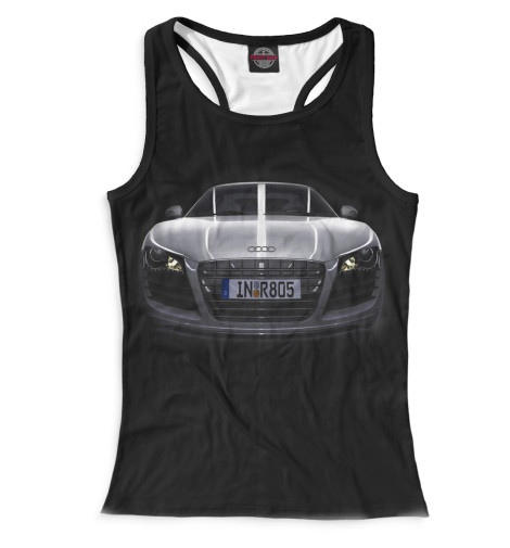 Женская майка-борцовка Audi R8