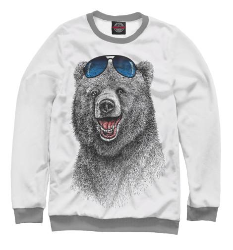 Свитшот Print Bar Счастливый медведь парфюмерная вода chloe signature объем 30 мл вес 100 00