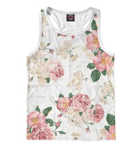 Купить Мужская майка-борцовка Цветы CVE-869690-mayb-2