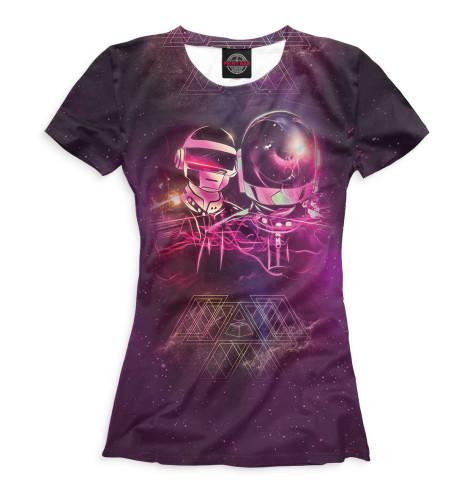 Купить Футболка для девочек Daft Punk DFP-178970-fut-1