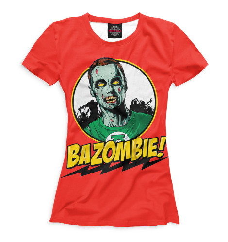 Женская футболка Bazombie!