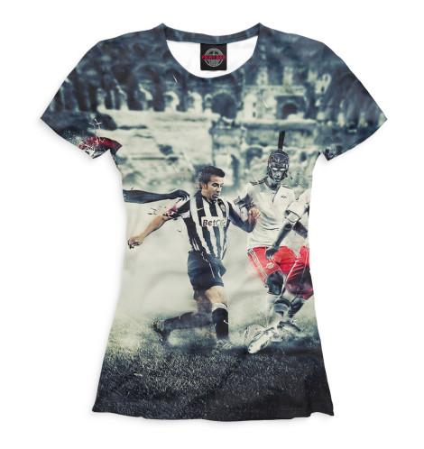 Женская футболка Дель Пьеро в атаке