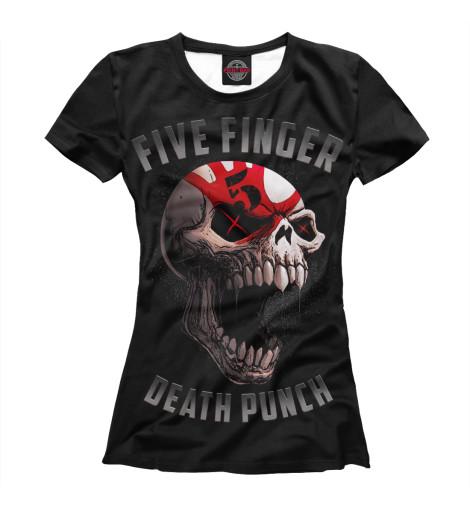Футболка Print Bar Five Finger Death Punch футболка с полной запечаткой для мальчиков printio five finger death punch