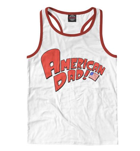Майка борцовка Print Bar American Dad!