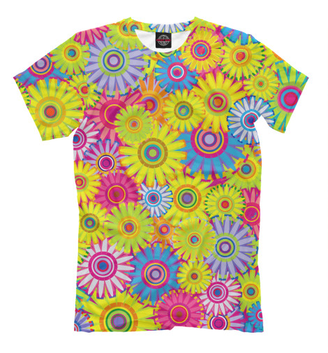 Футболка Print Bar Цветочный Бум футболка print bar цветочный сад