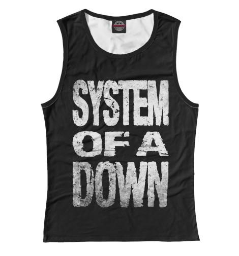 Женская майка System of a Down