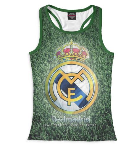Женская майка-борцовка Герб Реал Мадрид