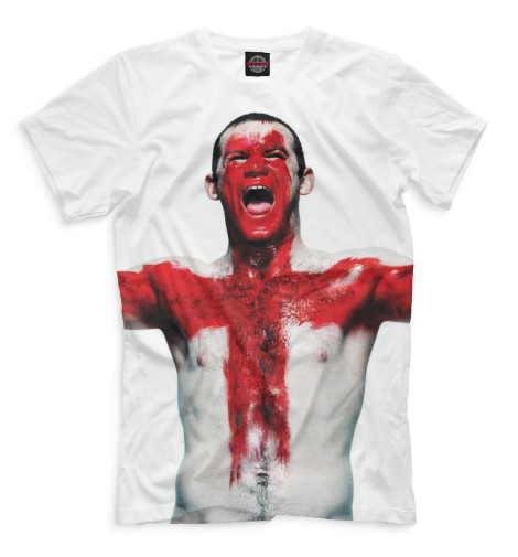 Мужская футболка Руни в краске