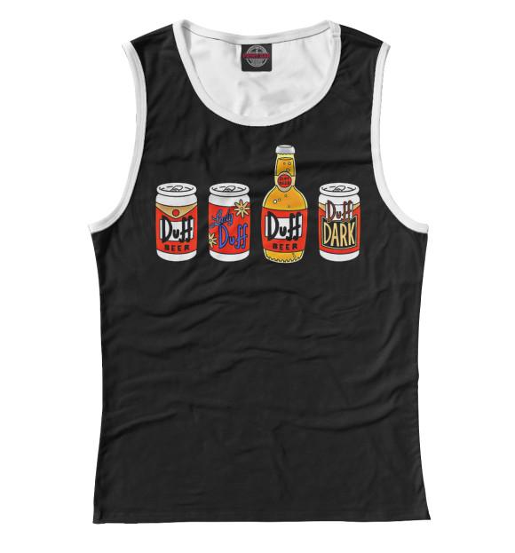 Купить Женская майка Duff Beer SIM-945864-may-1