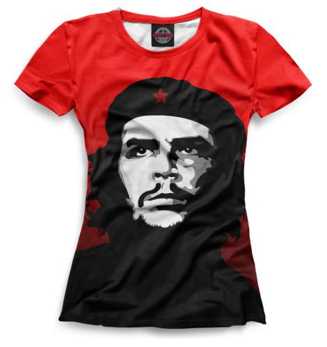 Женская футболка Че Гевара