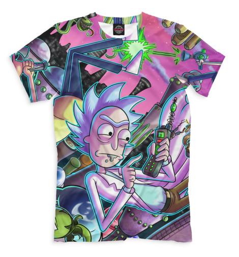 Купить Мужская футболка Рик и Морти RNM-220451-fut-2
