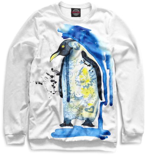 Женский свитшот Пингвин