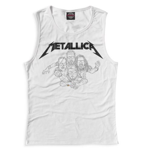 Женская майка Metallica