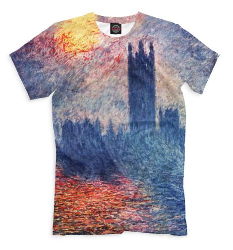 Мужская футболка Парламент в Лондоне