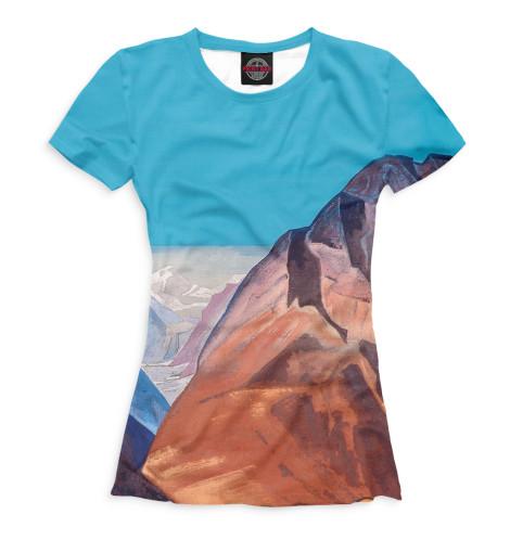 Женская футболка Лахул
