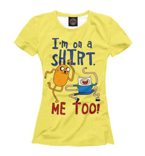 Купить Женская футболка Финн и Джейк ADV-520547-fut-1