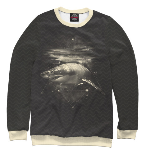 Свитшот Print Bar Cosmic Shark худи print bar cosmic shark