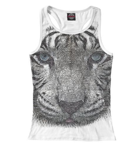 Майка борцовка Print Bar Белый тигр футболка print bar белый тигр
