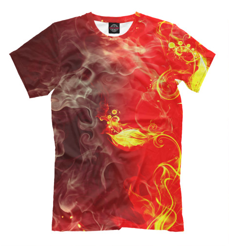 Футболка Print Bar Огненный цветок футболка print bar real огненный лого