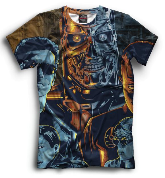 Мужская футболка Терминатор TER-807278-fut-2  - купить со скидкой