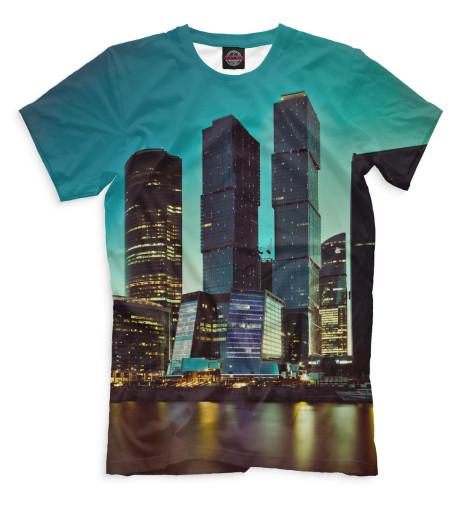 Мужская футболка Москва-Сити
