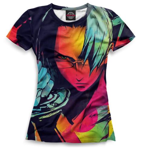 Женская футболка Анимэ