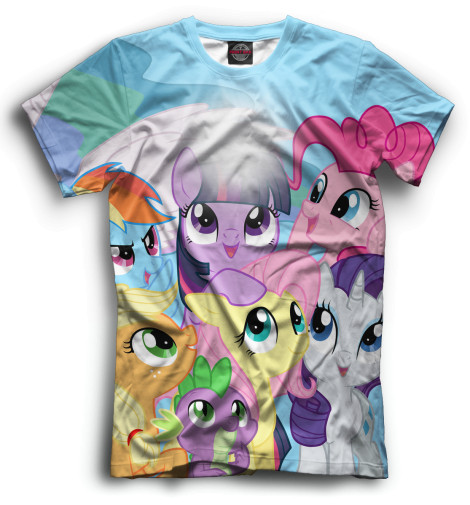 Футболка Print Bar My Little Pony