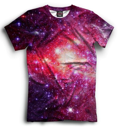 Мужская футболка Космос