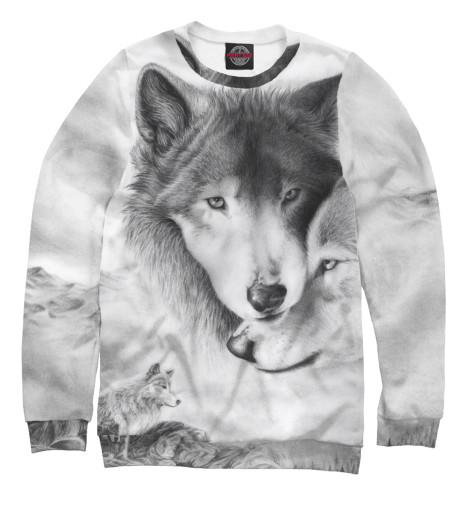 Свитшот Print Bar Волки василий сахаров степные волки