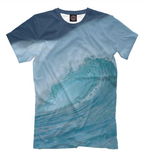Мужская футболка Волна