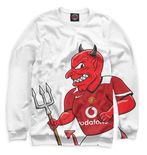 Женский свитшот Manchester United Красный дьявол