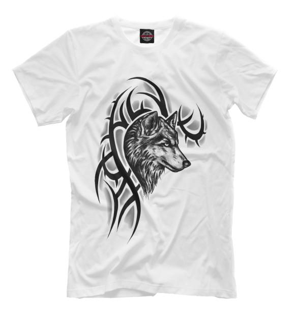 Купить Мужская футболка Волк VLF-876292-fut-2