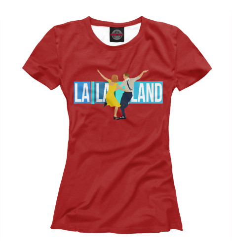 Футболка Print Bar La La Land la la land in concert stockholm