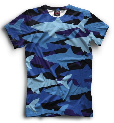 Мужская футболка Акулы