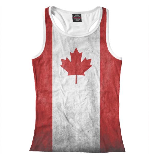 Купить Майка для девочки Флаг Канады CTS-110169-mayb-1