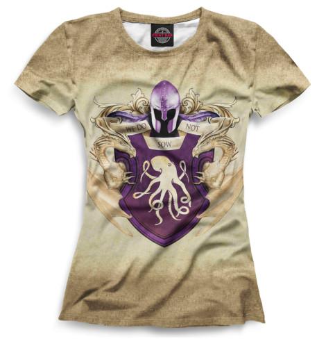 Женская футболка Символ Грейджой