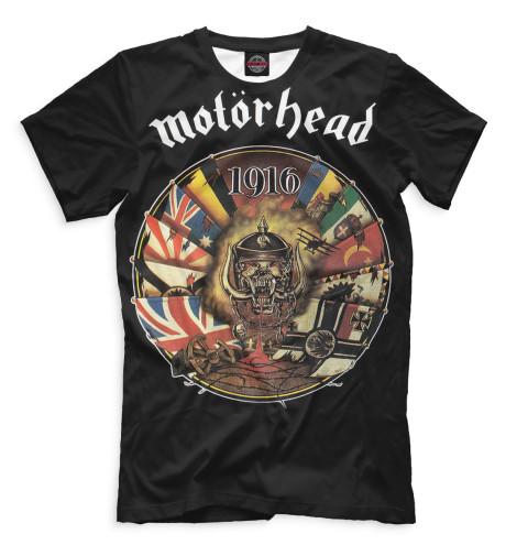 Купить Мужская футболка Motorhead MOT-585580-fut-2