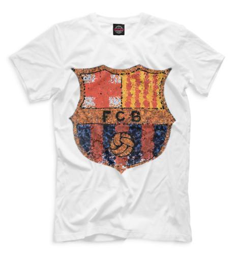 Мужская футболка FCB мозаика
