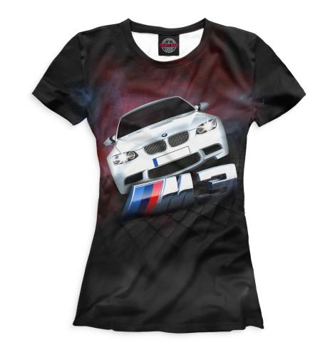 Женская футболка BMW