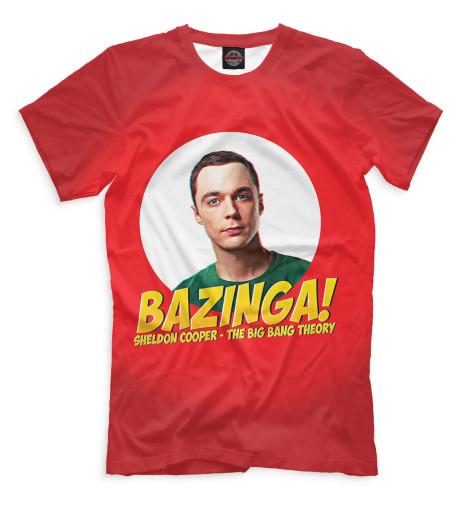 Мужская футболка Bazinga!