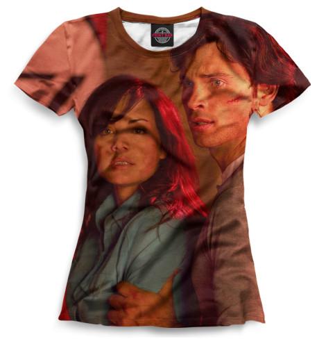 Женская футболка Тайны Смолвиля