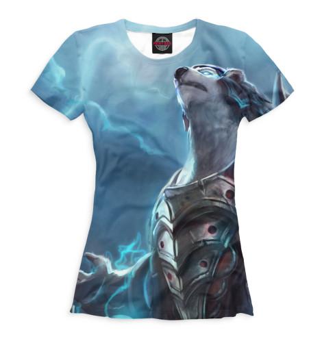Женская футболка Volibear